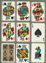 Vintage collectable playing cards courts mining 1976